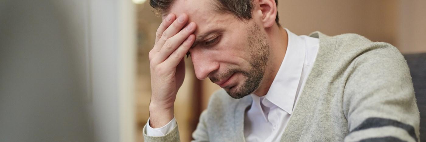 pollenallergi ont i huvudet