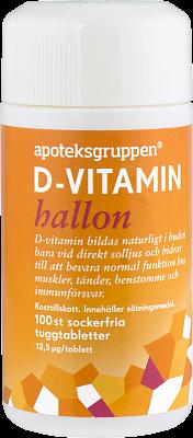 d vitamin hallon