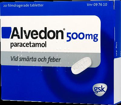 alvedon apoteket pris
