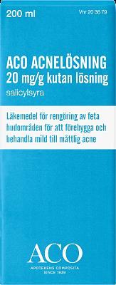 acnelösning med salicylsyra