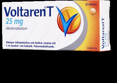 voltaren tabletter receptfritt