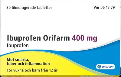 ibuprofen hur ofta