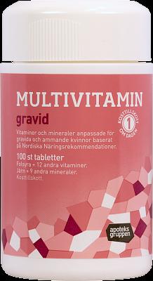 multivitamin för gravida och ammande