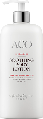 aco soothing body lotion